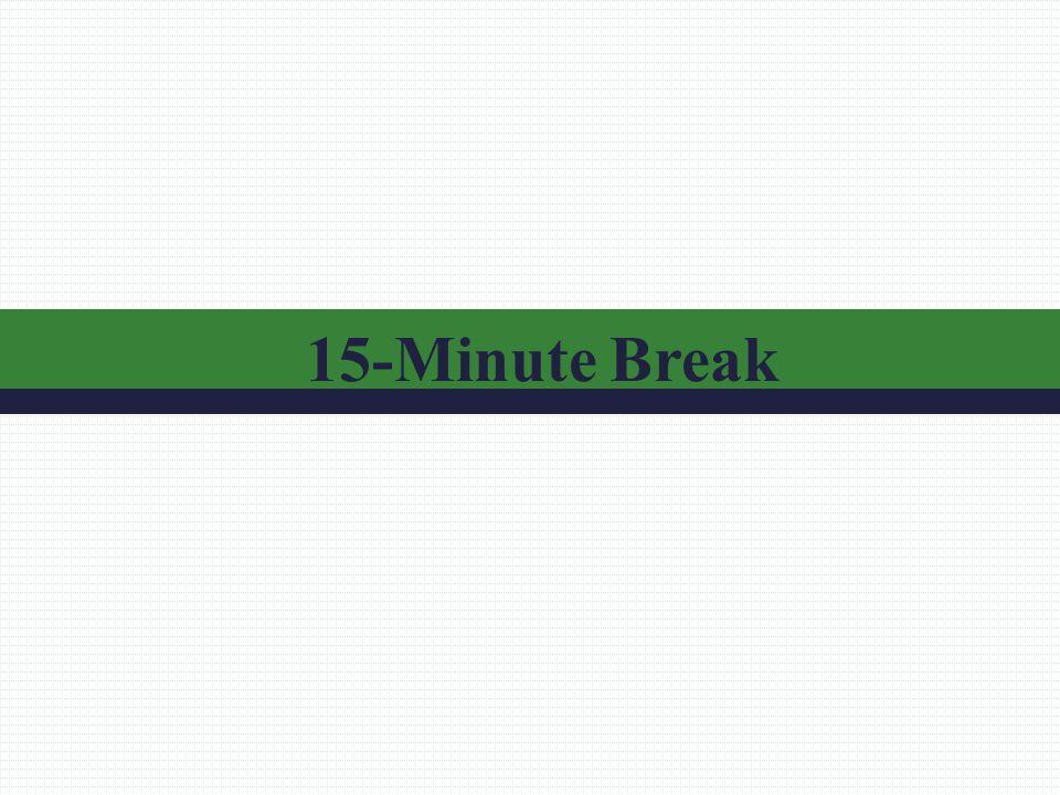 15-Minute Break