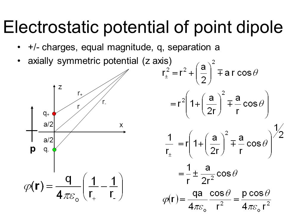 Total induced charge: implications 2 conclusions from the result: (1)Induced charge equals the negative of original point charge - trivially true in this case only.