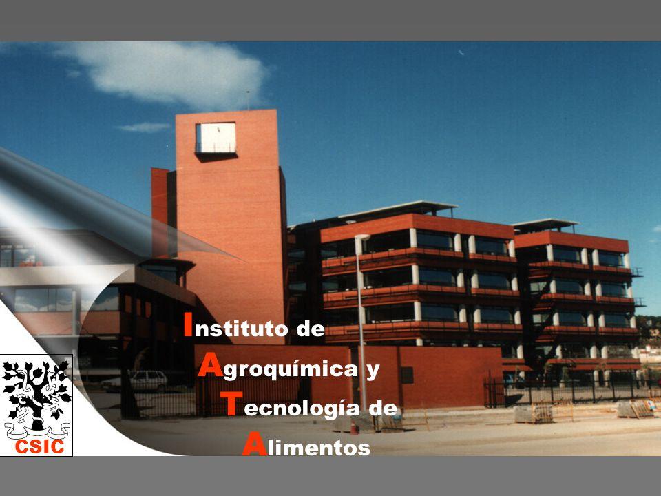 CSIC I nstituto de A groquímica y T ecnología de A limentos