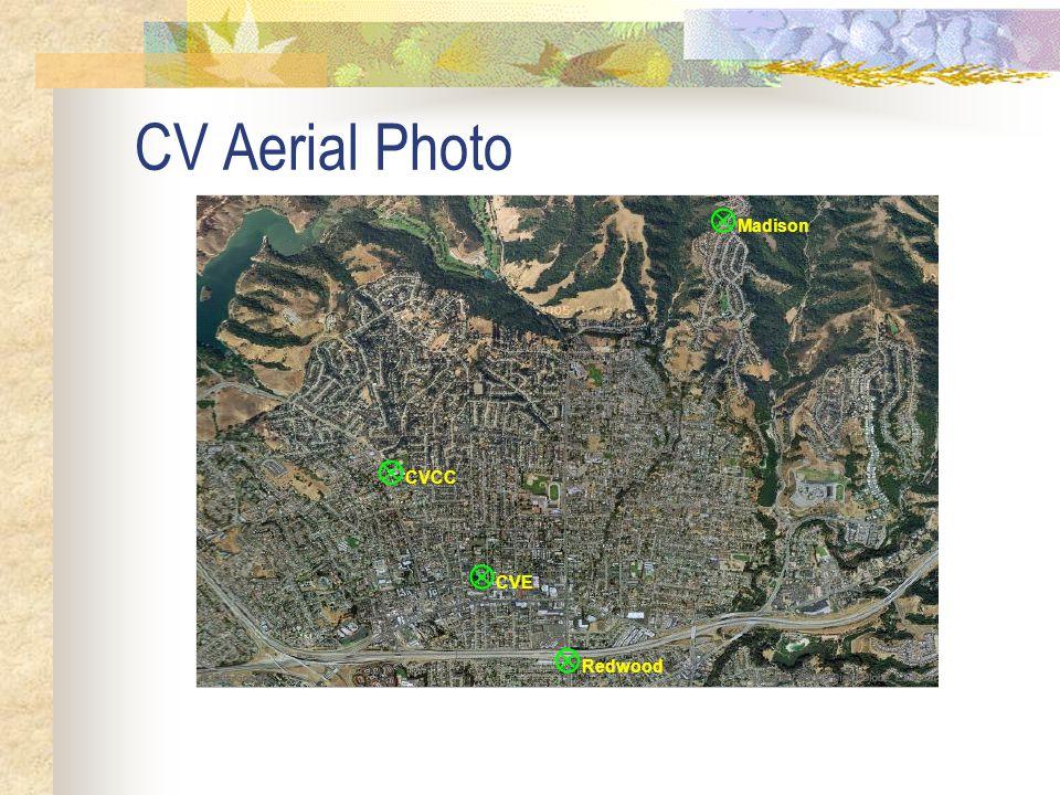 CV Aerial Photo  Madison  CVCC  CVE  Redwood