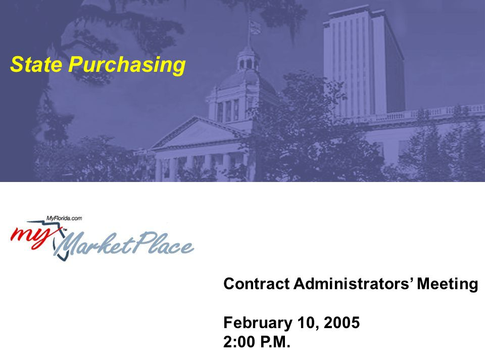 2 Contract Administrators' Meeting February 10, 2005 Agenda Survey Results Vendor Performance Tracking System Centralized Contract Management System DEP Update – Contract Administration & Reporting System Next Meeting Location / Time