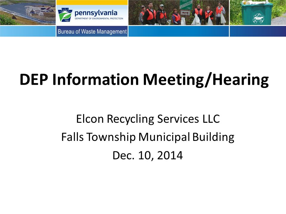 Inform public of the hazardous waste siting process.