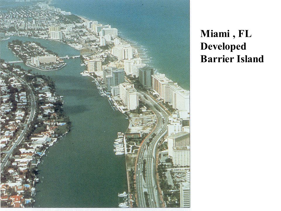 Miami, FL Developed Barrier Island