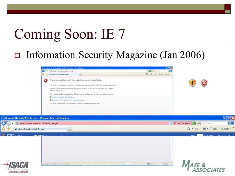 Coming Soon: IE 7  Information Security Magazine (Jan 2006)