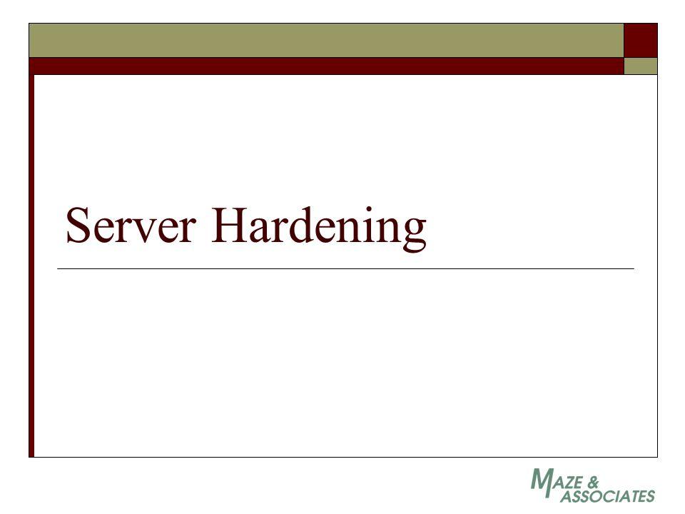 Server Hardening