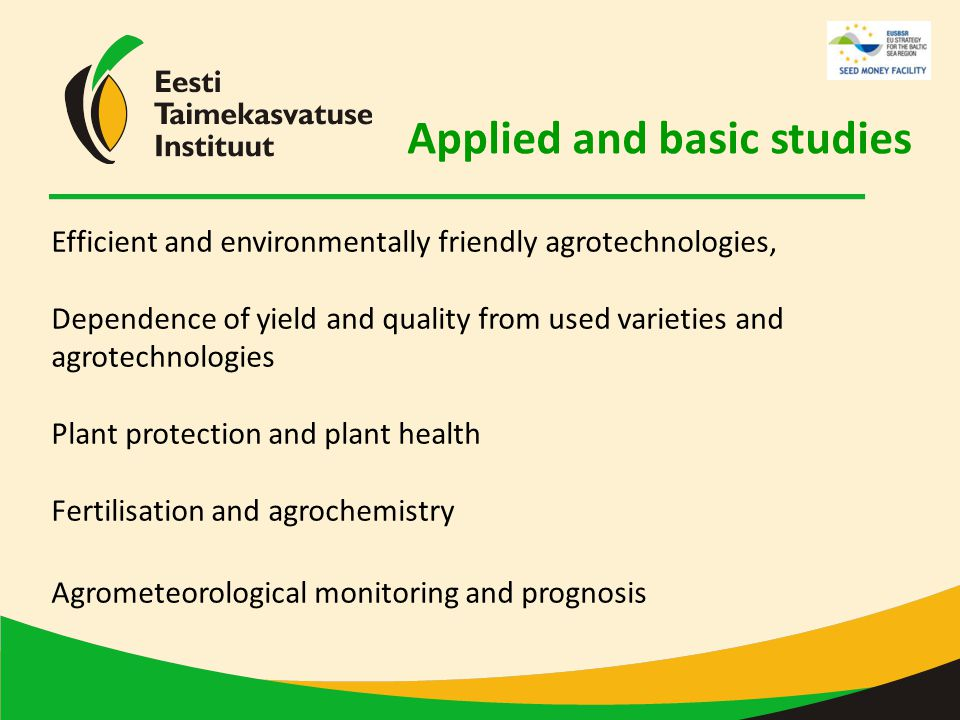 Effective and environmentally friendly agrotehnologies Agrometeorology Impact of soil cultivation practices on soil properties and plant yield Soil cultivation