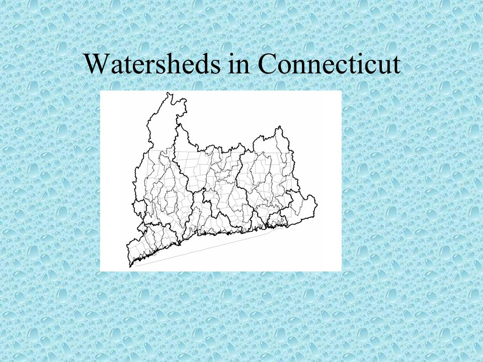 Watersheds in Connecticut