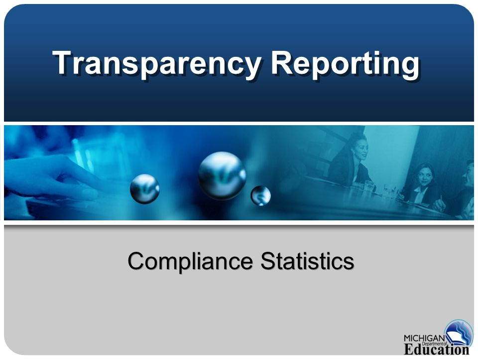 Transparency Reporting Compliance Statistics