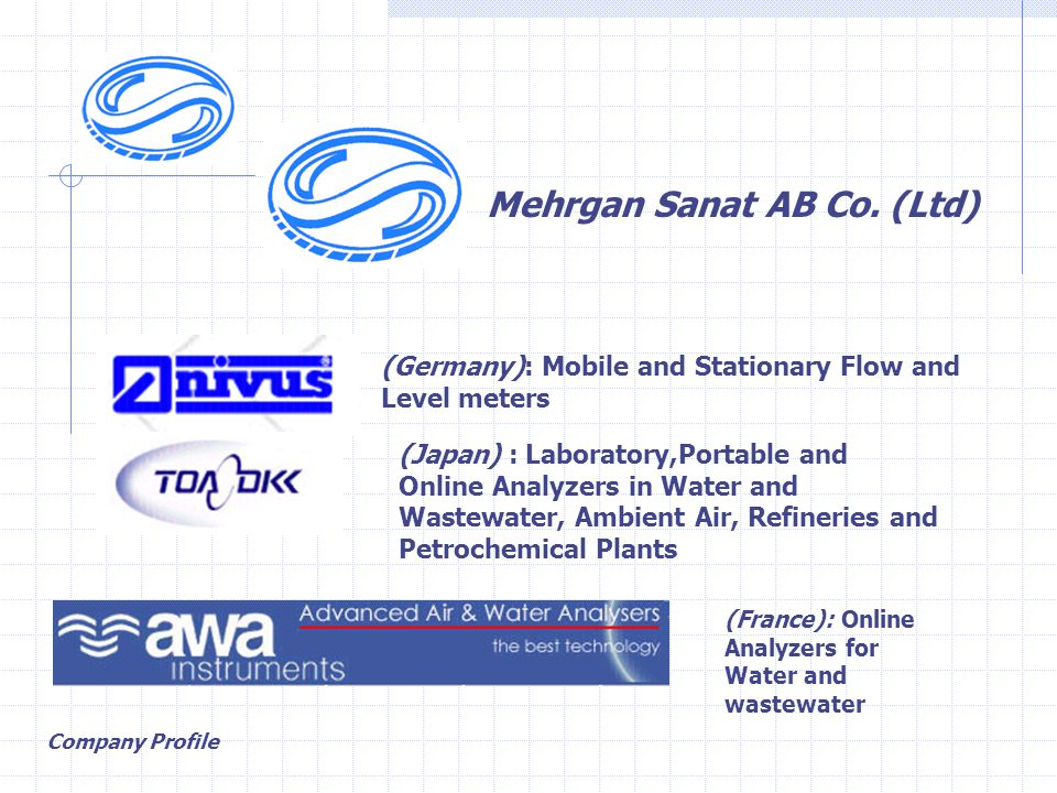 Company Profile Mehrgan Sanat AB Co.