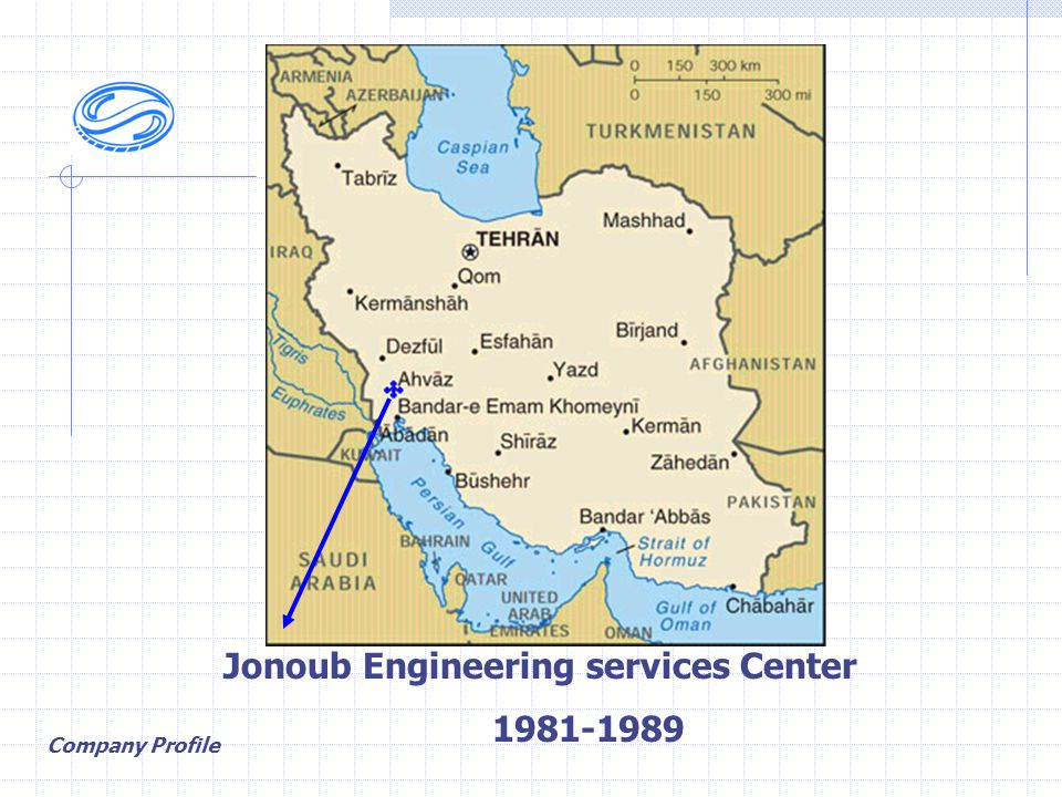 Jonoub Engineering services Center 1981-1989 Company Profile