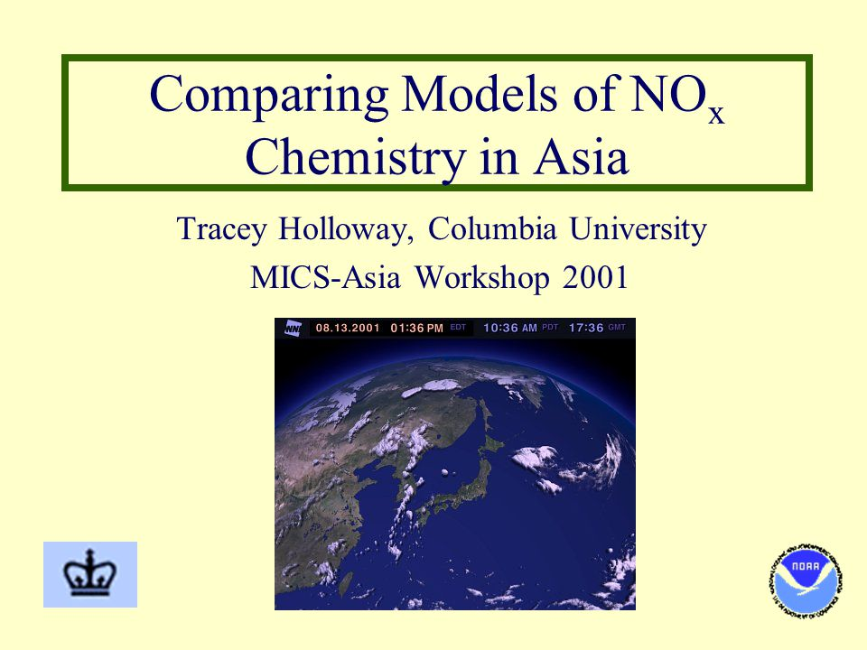 GCTM vs. ATMOS-N Annual Wet HNO 3 Deposition (meq/m 2 -yr) Global, EulerianRegional, Lagrangian
