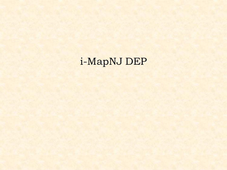 i-MapNJ DEP