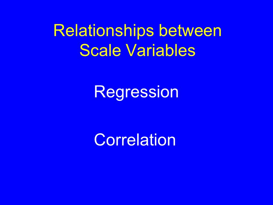 Correlation: Goodness of Fit Variance (average sum of squared distances from mean) = 454 Least squares (average sum of squared distances from regression line) = 295