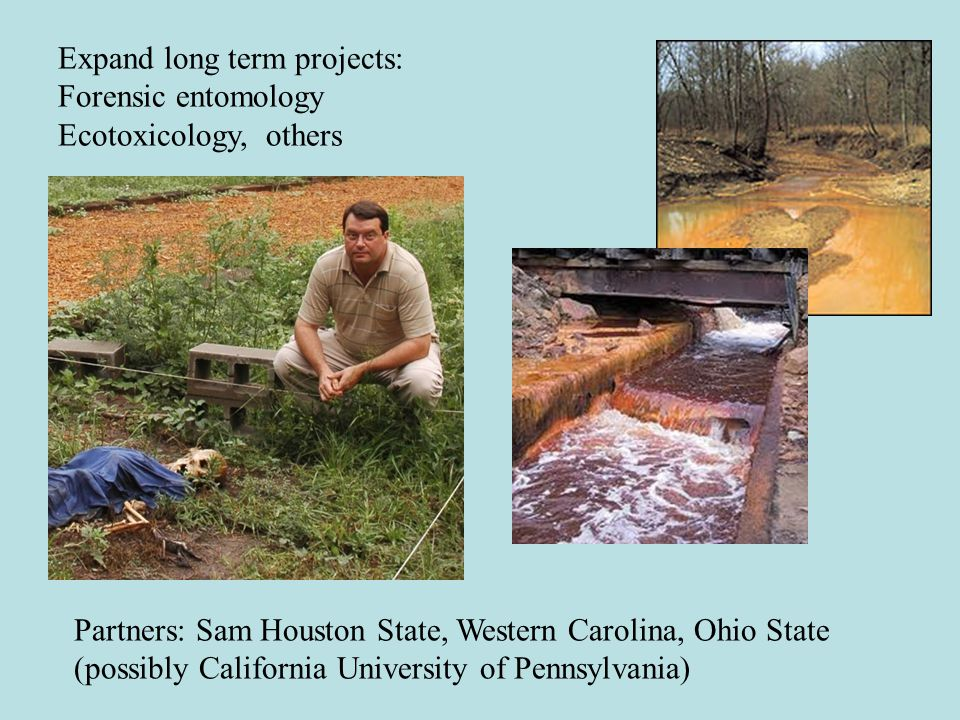 Establish endowment that offers modest grants, $5k-$10K, to student researchers to fund projects on PNR grounds.