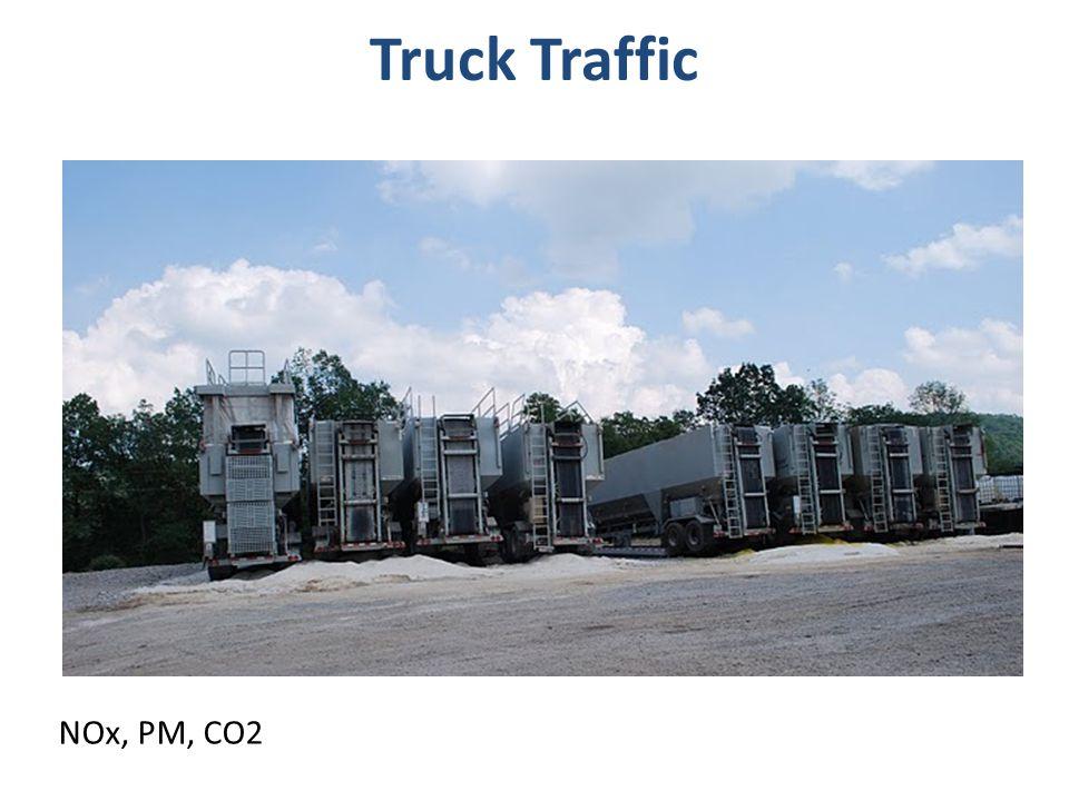 Truck Traffic NOx, PM, CO2