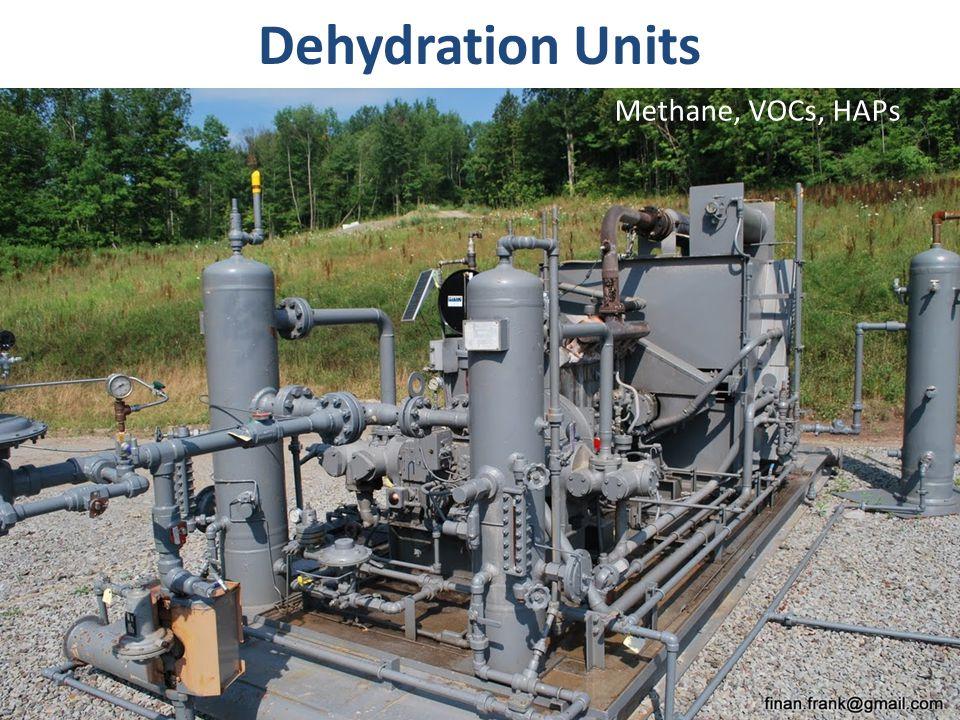 Dehydration Units Methane, VOCs, HAPs