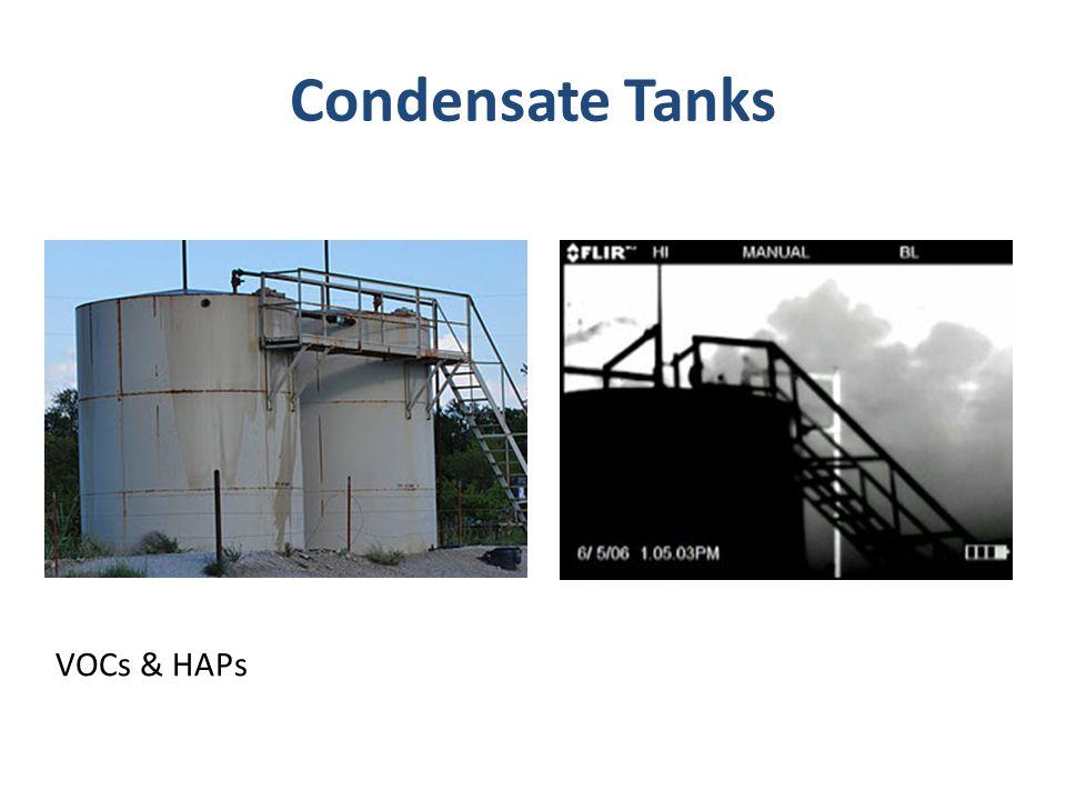 Condensate Tanks VOCs & HAPs