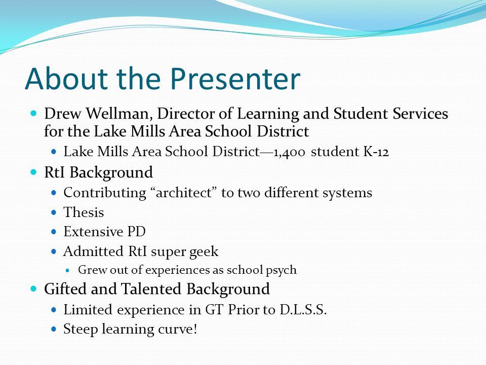 Talent Development Staff Roles DLSS Oversee program Principal Oversee building level program Talent Development Advocates Most important.