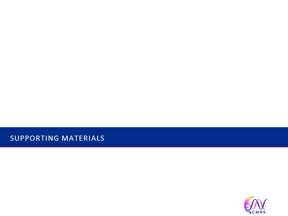 SUPPORTING MATERIALS 53