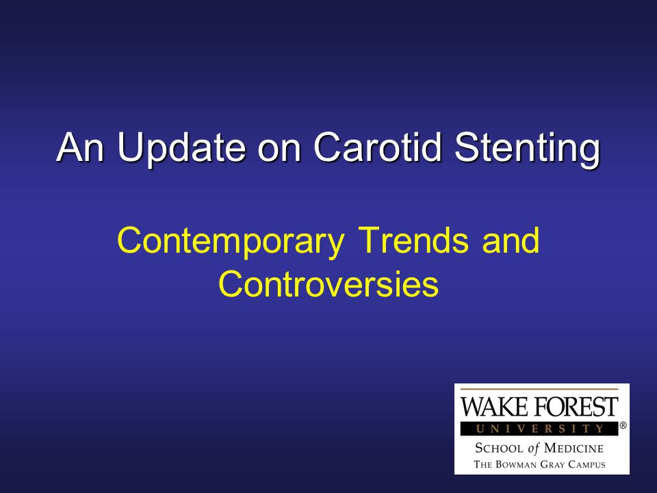 An Update on Carotid Stenting Contemporary Trends and Controversies