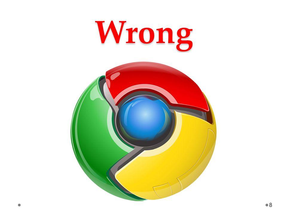 Wrong 8