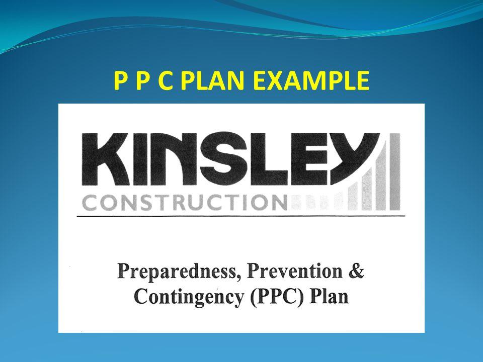 P P C PLAN EXAMPLE