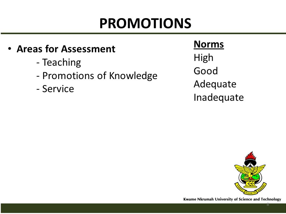 PROMOTIONS No Of Years No Of Publications Req.Asst.