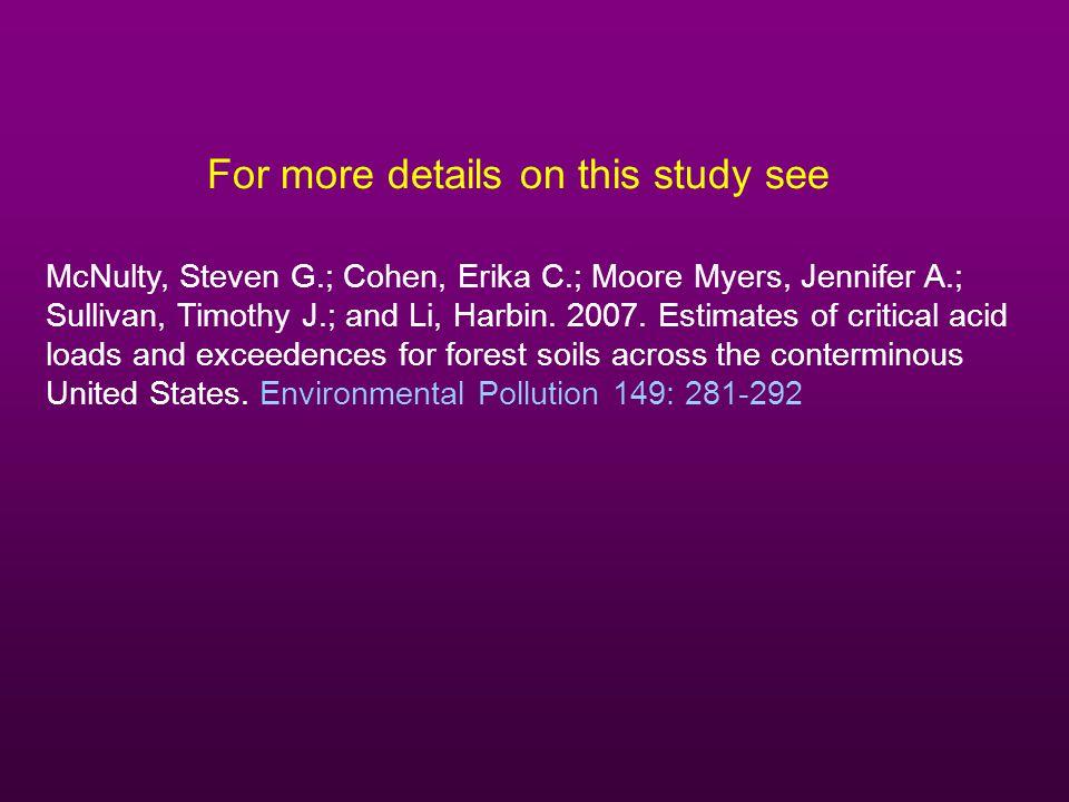 McNulty, Steven G.; Cohen, Erika C.; Moore Myers, Jennifer A.; Sullivan, Timothy J.; and Li, Harbin.