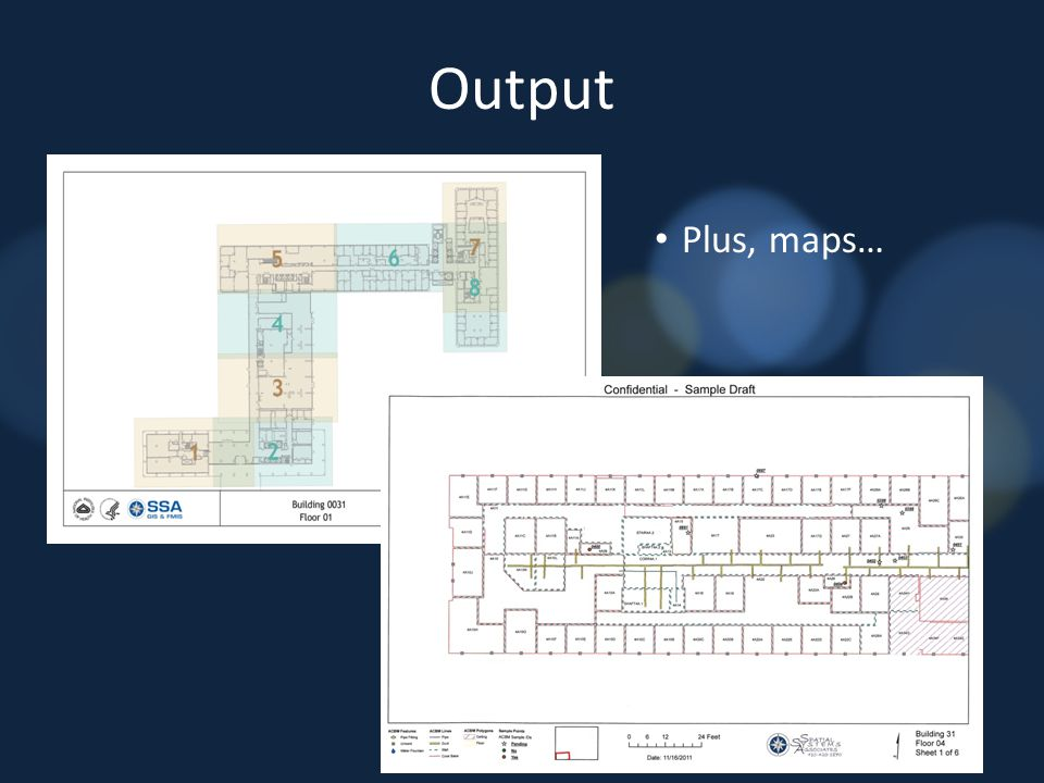 Output Plus, maps…