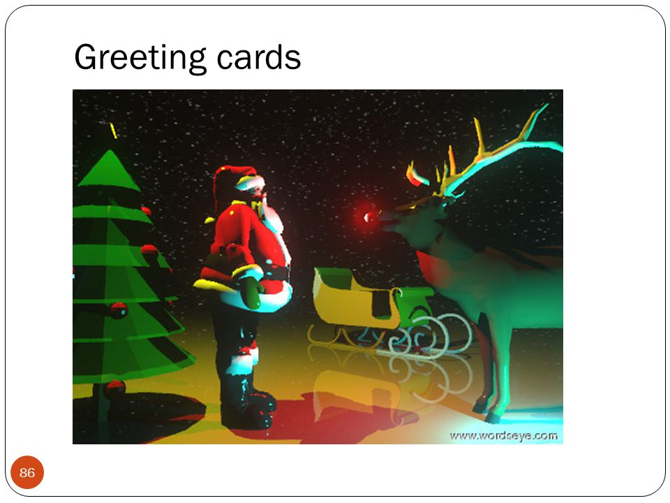 86 Greeting cards