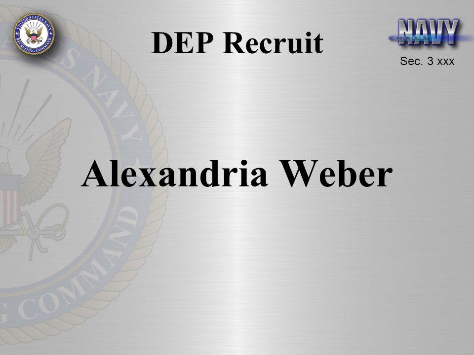 Sec. 3 xxx DEP Recruit Alexandria Weber