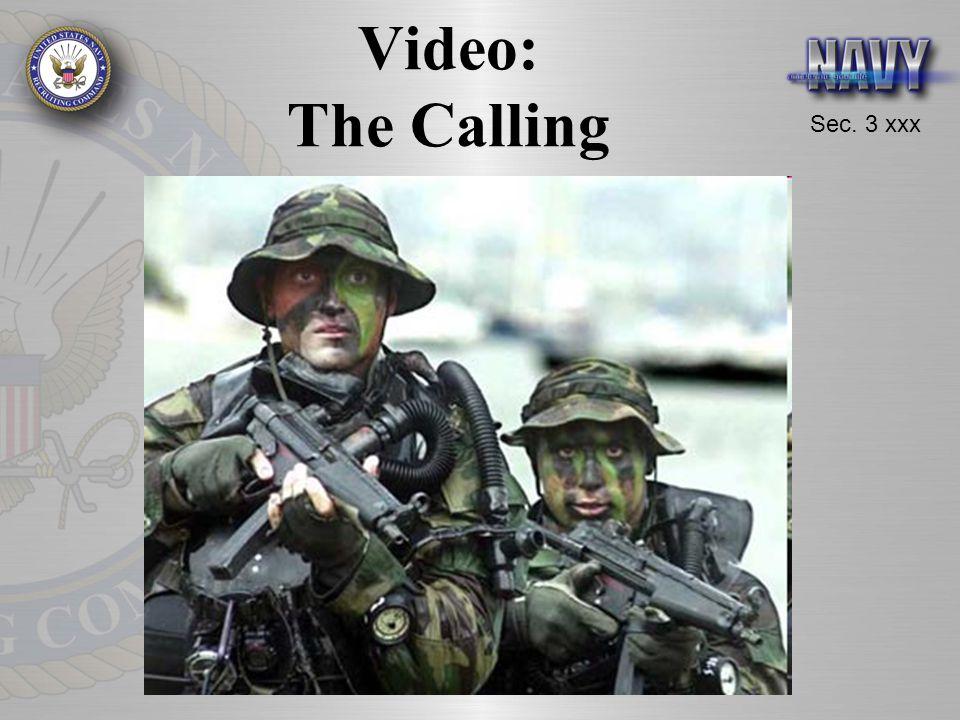 Sec. 3 xxx Video: The Calling