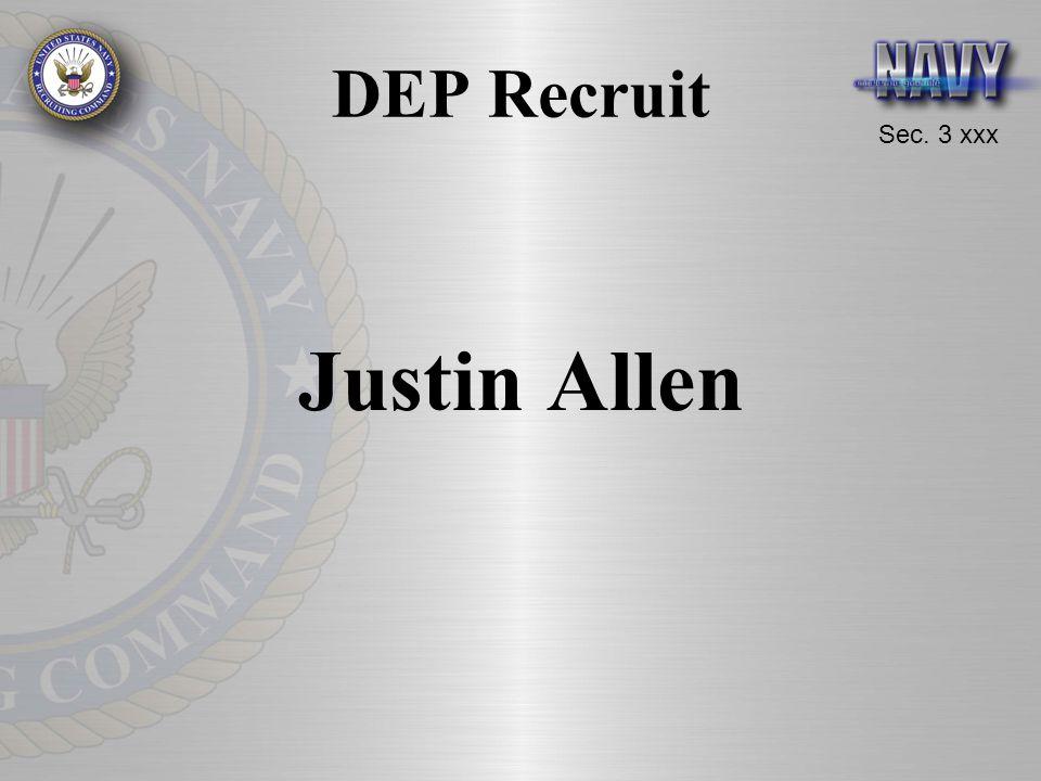 Sec. 3 xxx DEP Recruit Justin Allen