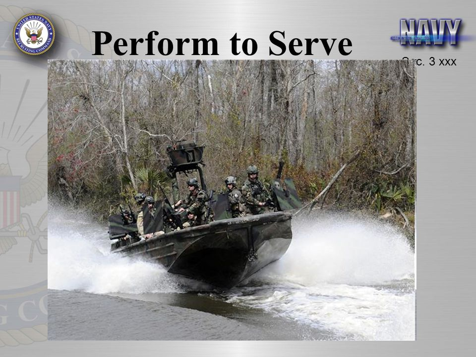 Sec. 3 xxx Perform to Serve