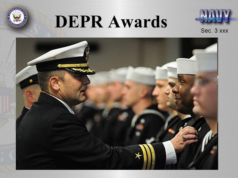 Sec. 3 xxx DEPR Awards
