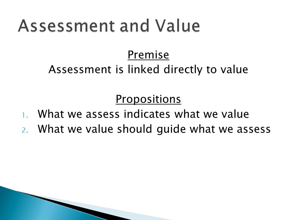A form of evaluation in which the values of the participants' in a program are made explicit expectations for what should come out of their actions and those actions are evaluated according to the extent to which the actions achieve the expected outcomes.