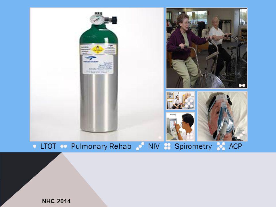 LTOTPulmonary RehabNIVSpirometryACP NHC 2014