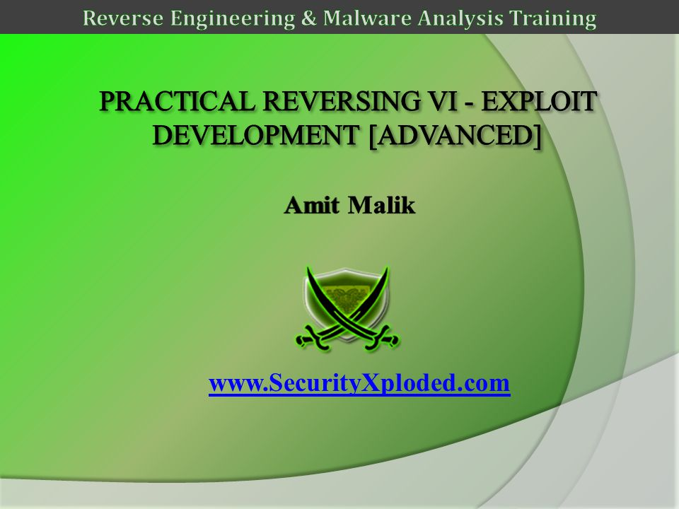 www.SecurityXploded.com