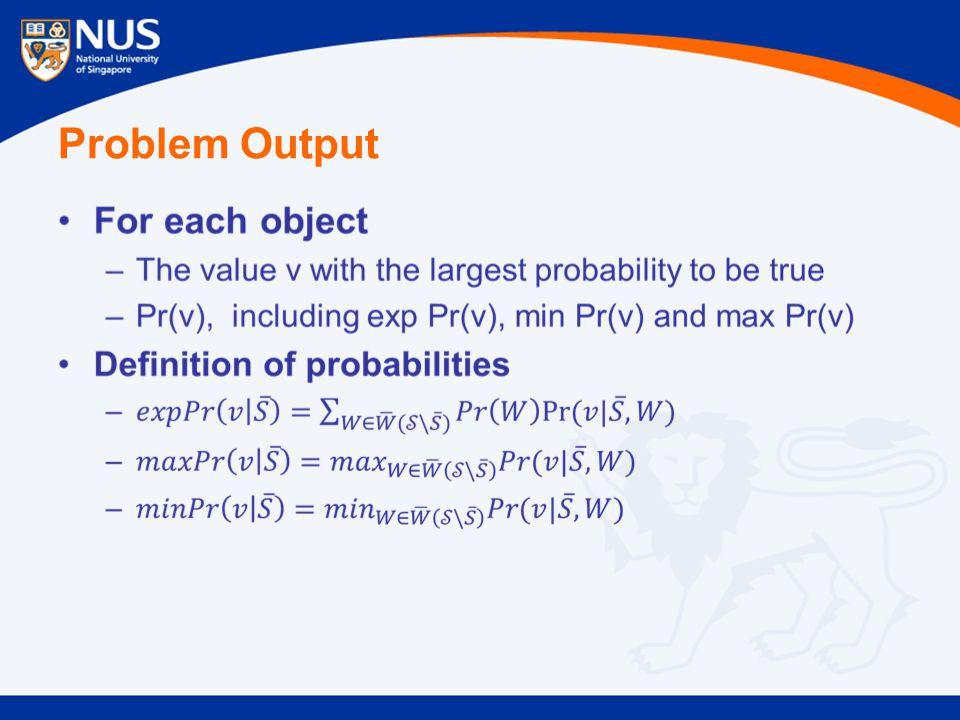 Problem Output