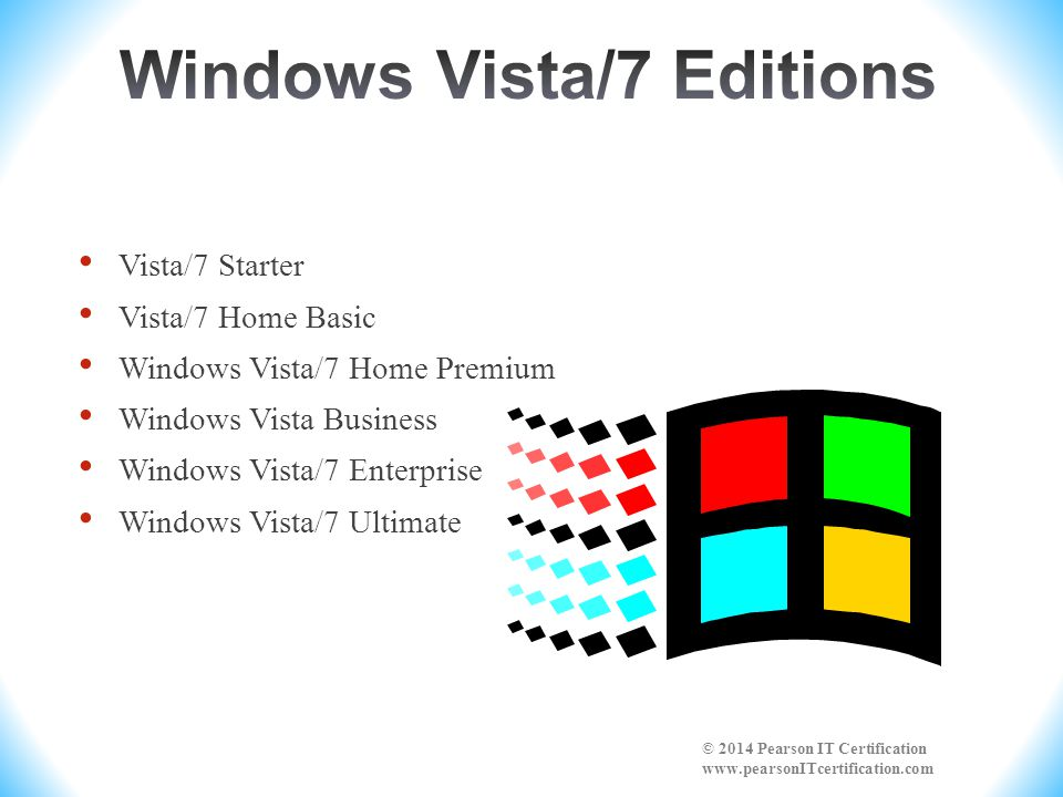 Windows operating systems can be 32-bit or 64-bit.