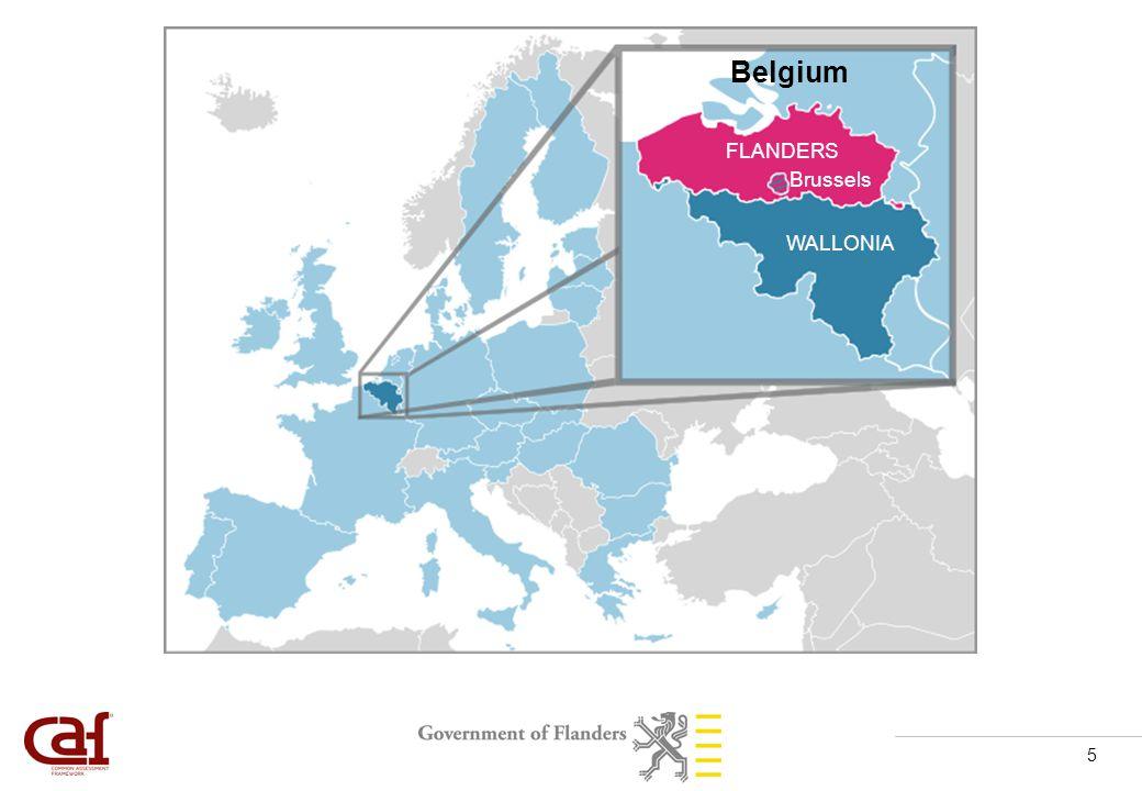 5 FLANDERS WALLONIA Brussels Belgium