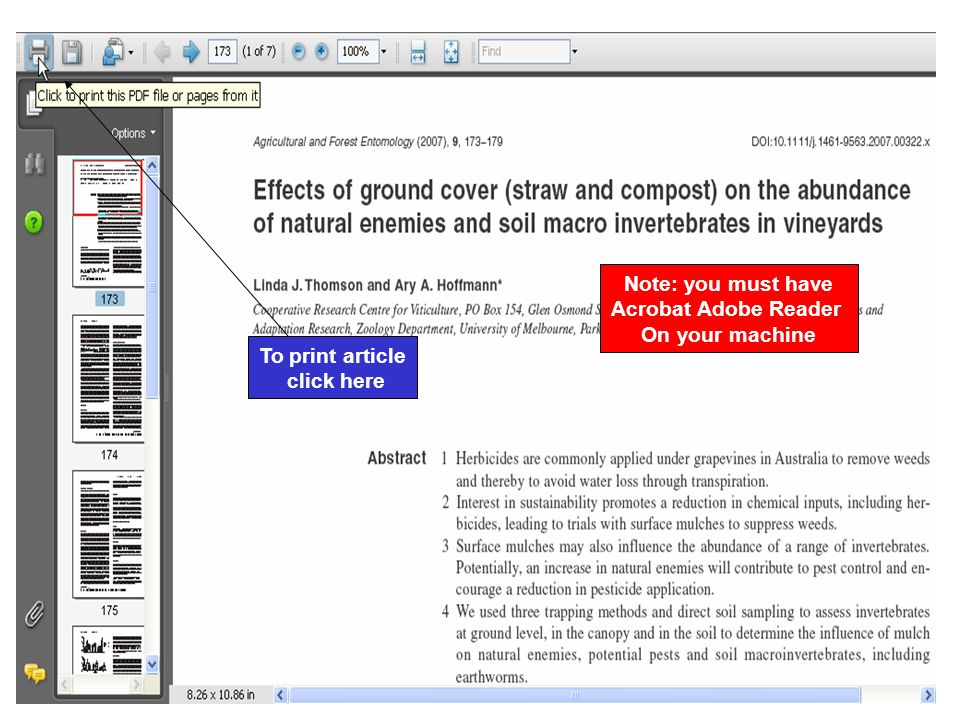 Note: you must have Acrobat Adobe Reader On your machine To print article click here