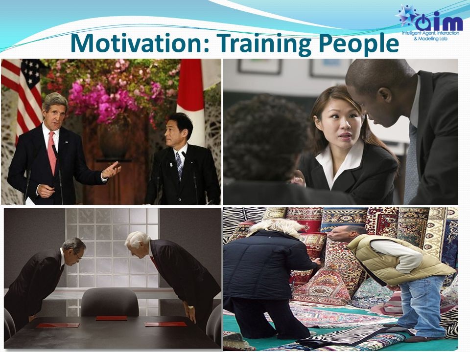Motivation: Training People 4