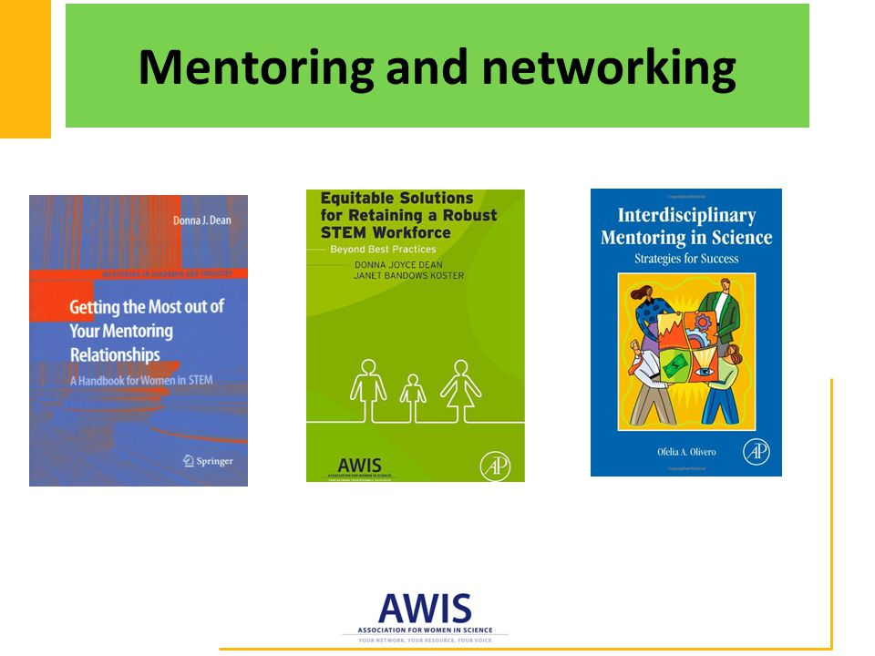 Mentoring and networking
