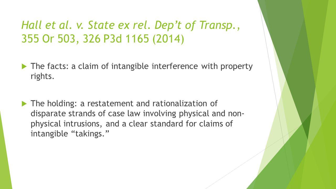 Hall et al.v. State ex rel.