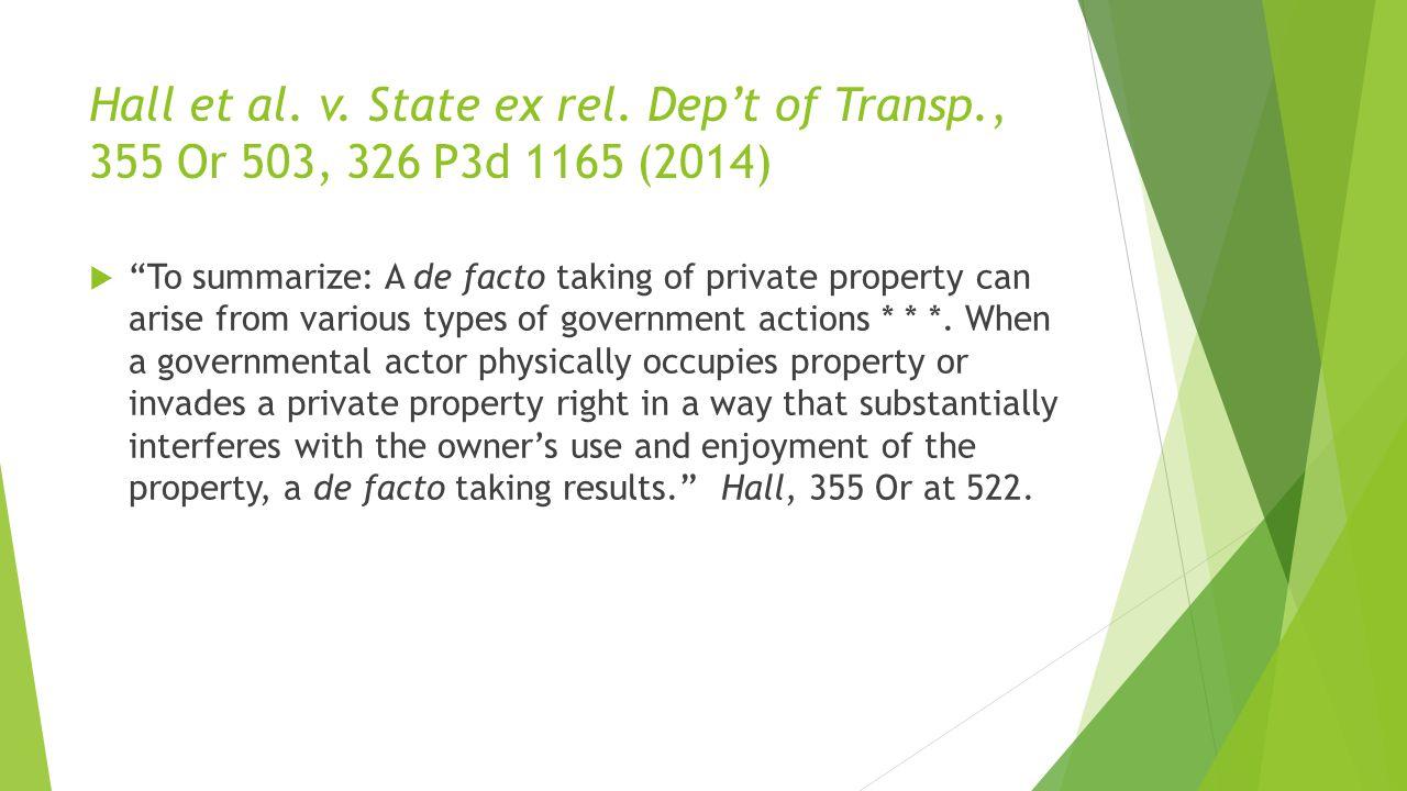 Hall et al. v. State ex rel.