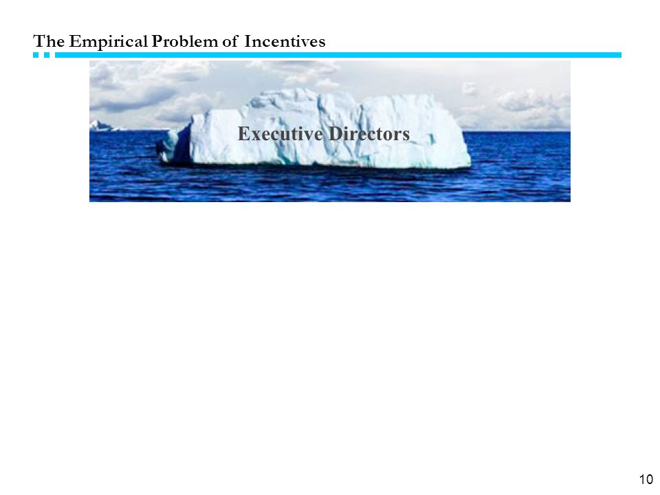 10 The Empirical Problem of Incentives
