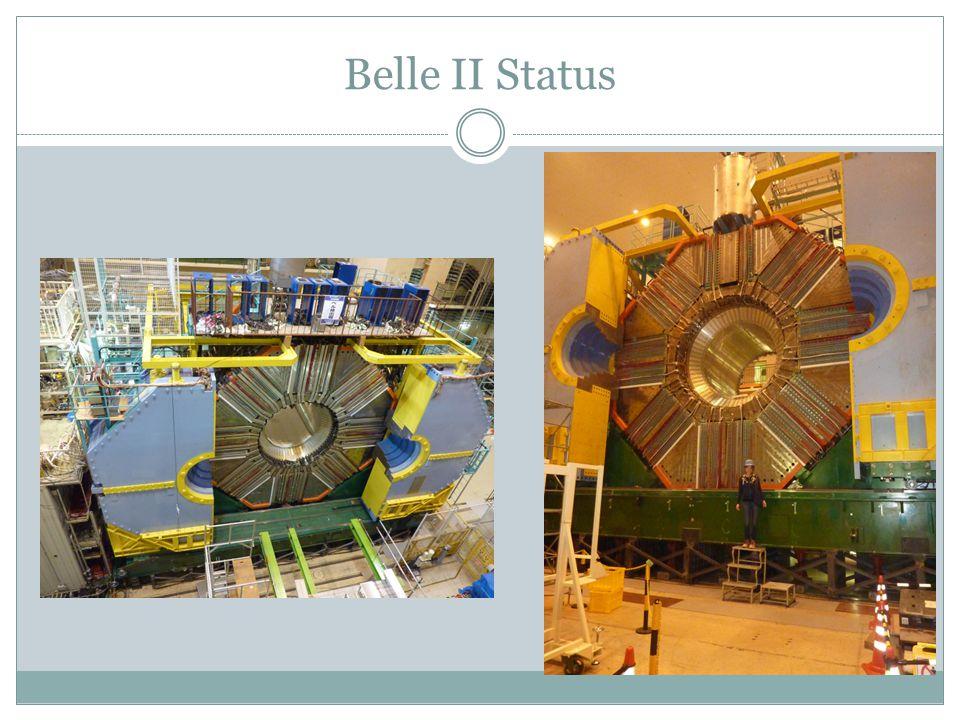 Belle II Status
