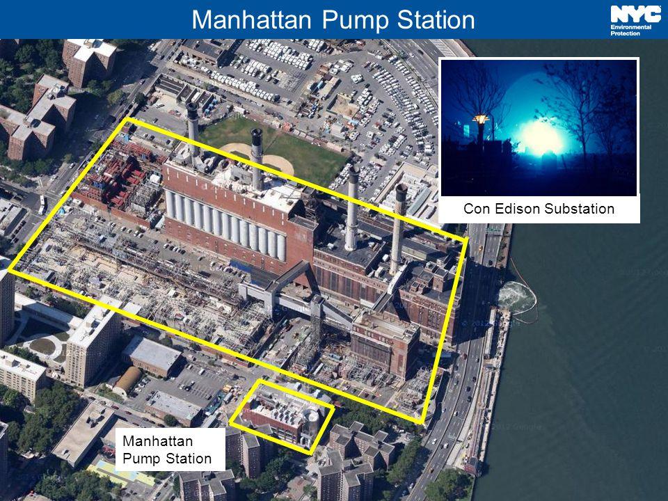6 Manhattan Pump Station Con Edison Substation Manhattan Pump Station