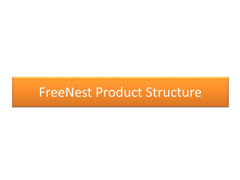 FreeNest Product Structure
